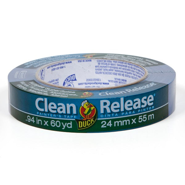 "Duck 240193 Clean Release Multiple Surfaces Painter's Tape, .94"" x 60 yd"