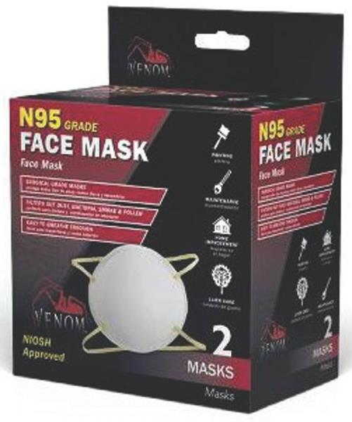 Medline VENN95 Venom® Face Mask, N95 Grade