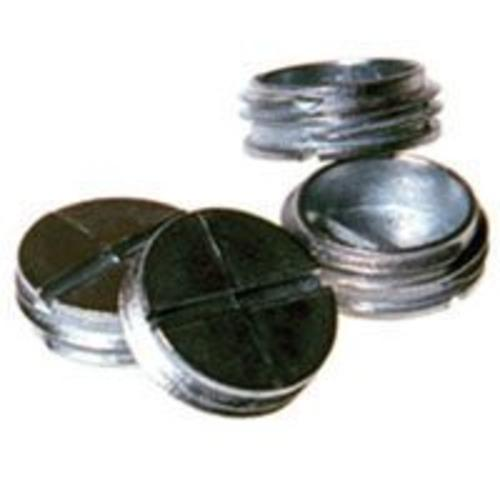 "Bell 5269-0 Closure Plugs, 1/2"", Gray Finish, Bag/4"