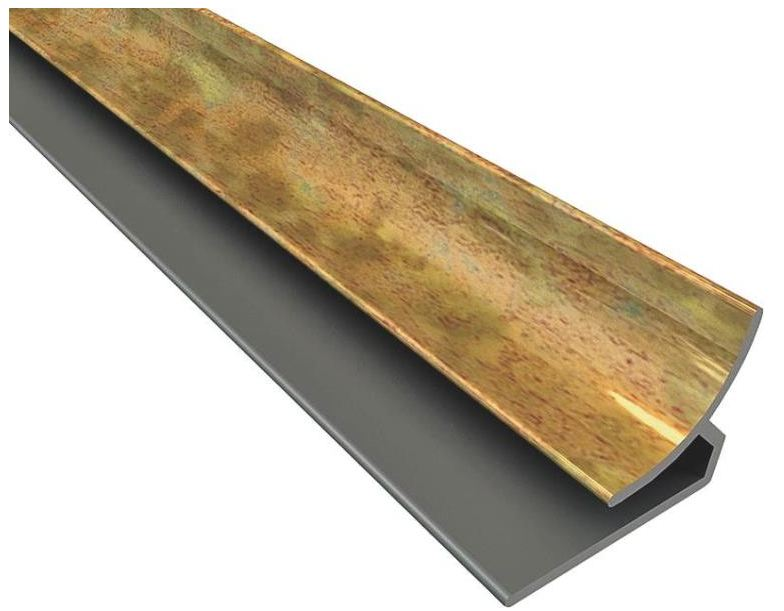 Acoustic Ceiling 92819 Fasade 18 Inch Corner Trim Cracked Copper