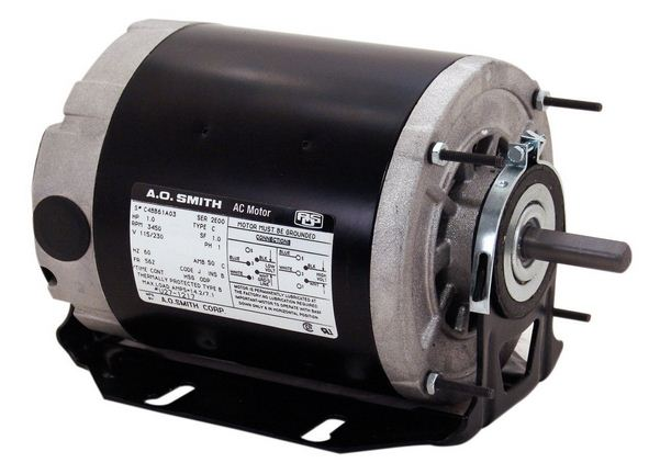 Century GF2034 Electric Start Motor, 1/3 HP, 115 V