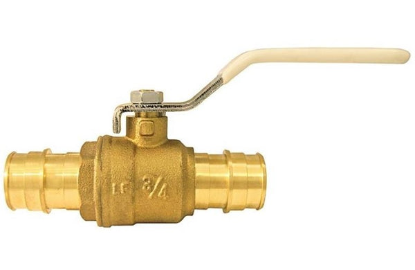 Apollo EPXV34 Expansion Pex Ball Valve, Brass, 3/4""