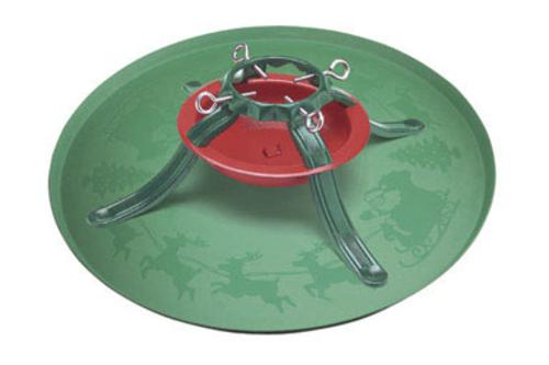 "Jack-Post XTRA Plastic Tree Stand Tray, 28.5"", Green"