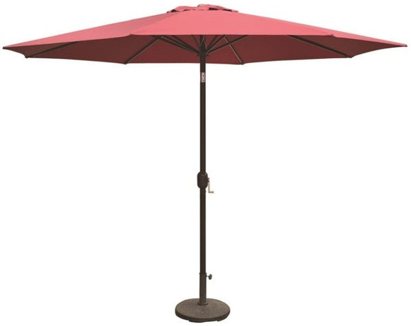 Seasonal Trends 69336 Essential Patio Umbrella, 11', Burgundy