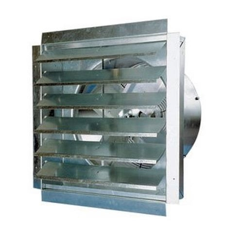 Maxxair IF36 Heavy Duty Exhaust Fan with Integrated Shutter, 36""
