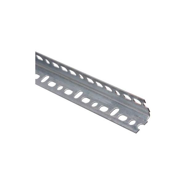 National Hardware N341-156 Slotted Angle, Galvanized, Steel