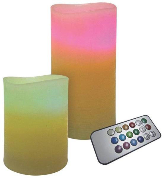 Holiday Basix E03496 Color Changing LED Candles