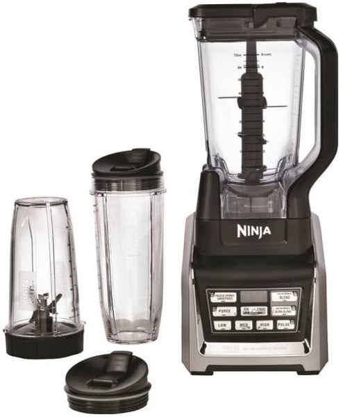 Ninja BL641 NutriNinja Blender Duo With Auto-iQ, 1300 Watt