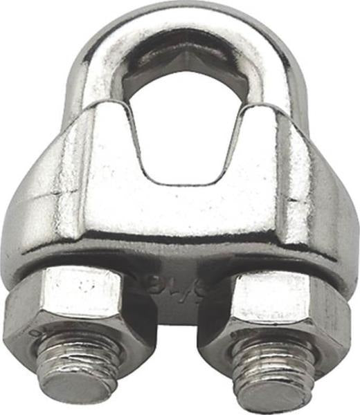 Baron 260S-5/16 Stainless Steel Wire Cable Clamp, 5/16""