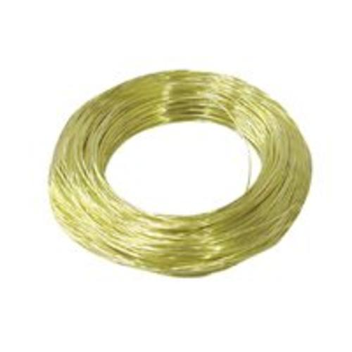 Hillman 50151 Plated Wire, 20 Gauge, Brass