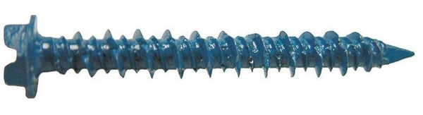 Western States 54093-1 Masonry Screw, #1, 3/16 x 1.75