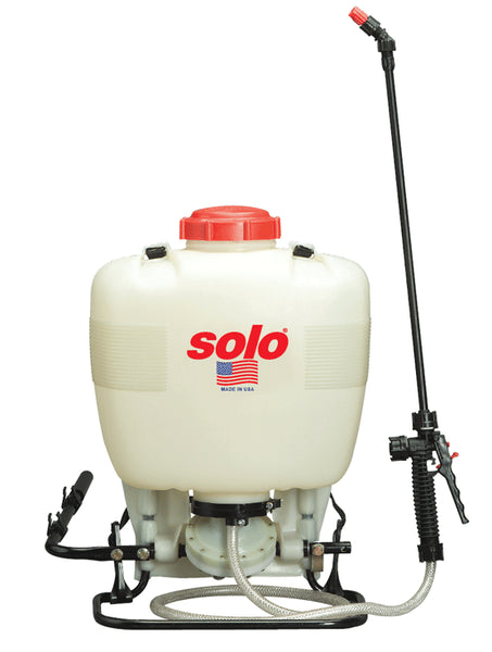 Solo 475-B Backpack Sprayer, 4 Gallon