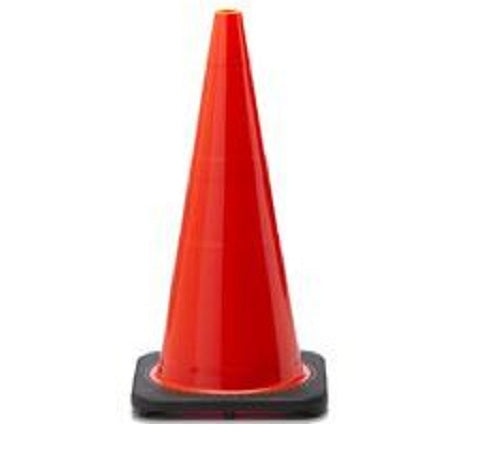 JBC Safety Plastic RS70032C Wide Body Safety Traffic Cones, 7lb