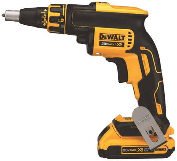 DeWalt DCF620D2 Brushless Drywall Screwgun Kit, 20 Volt