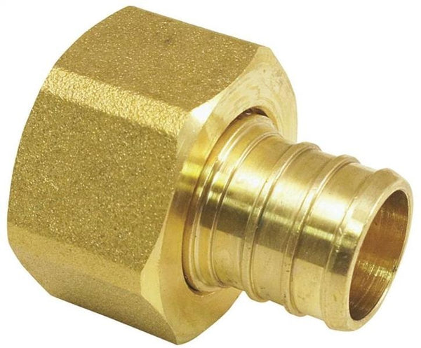 "Pex Fittings APXFF3434S  Swivel Adapter, 3/4""  x  3/4"" , Brass"