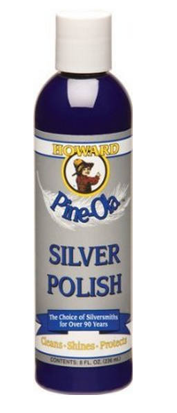 Howard SP0008 Pine-Ola Silver Polish, 8 Oz