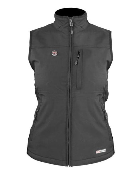 Mobile Warming MWJ13W02-MD-BLK Women Heated Vests, Medium, Black