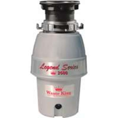 Anaheim 2600 Garbage Disposal, 1/2 Hp, 2600 Rpm