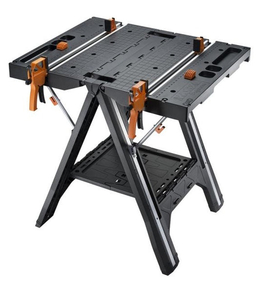 "Rockwell WX051 Multi-Function Work Table and Sawhorse, 31"" x 25"""