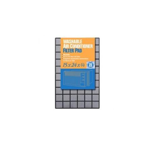"Protect Plus Air PG11524.25 Foam With Grid Air Filter, 15""x24""x1/4"""