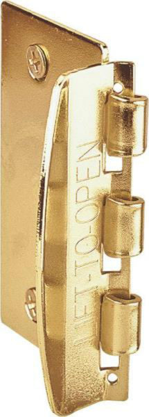 Prime Line U 9887 Flip Action Door Lock, Brass