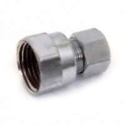 "Plumb Pak PP73PCLF Water Supply Straight Connector, 3/8"" x 1/2"""