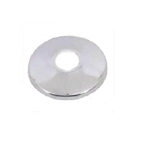 Plumb Pak PP9002PC Shallow Slip-On Bath Flange, Polished Chrome, 3/8""