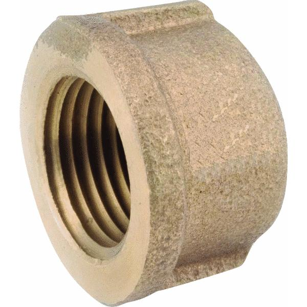 Anderson Metals 738108-16 Brass Ppipe Ffittings 1""