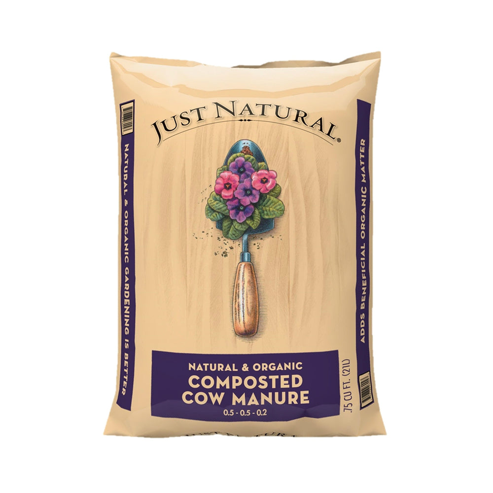 Old Castle 50050006 Just Natural Organic Compost and Manure, 0.75 cu.ft