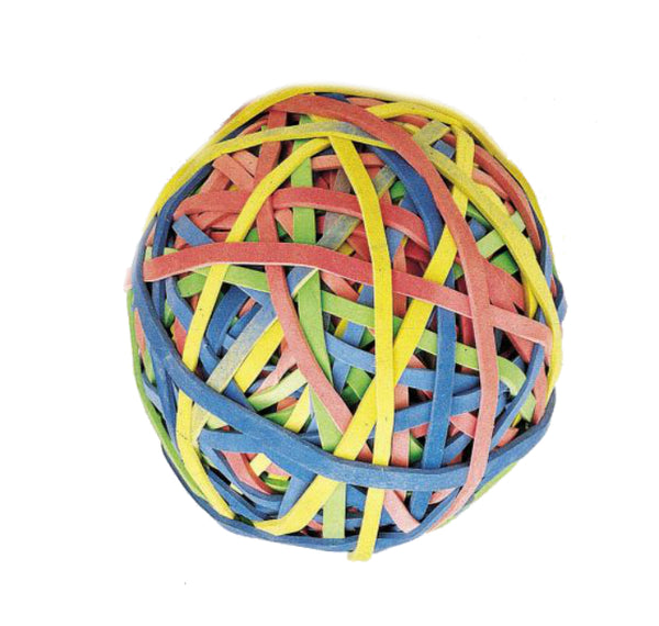 Acco A7072153 Rubber Ball Bands, Assorted