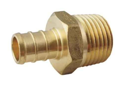 "Apollo APXMA3450PK Pex Adapter, 3/4"", Brass"