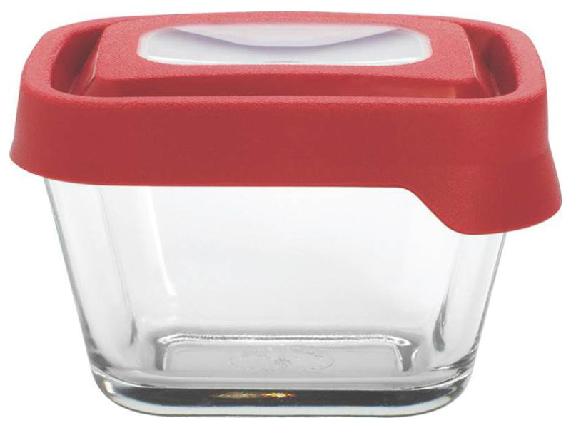Anchor Hocking 91847 TrueSeal Glass Food Storage Container, Rectangular