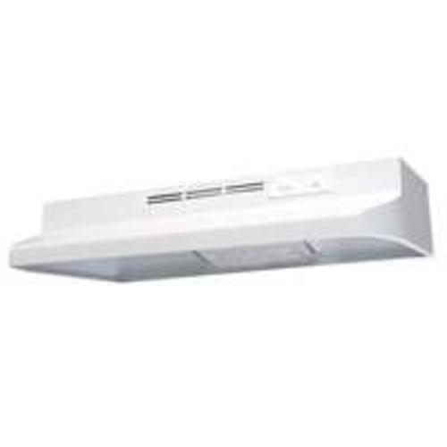 "Air King AD1363 Wide Range Hood, 36"", White, 180 CFM"