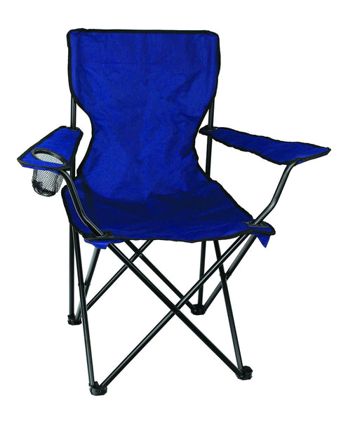 "Texsport 15153 Adult Bazaar Folding  Armchair, Blue, 20"" x 32"" x 31.5"""