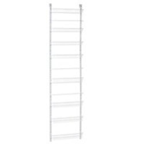 Closetmaid 123300 Adjust Wall Rack, 8 Tier, White