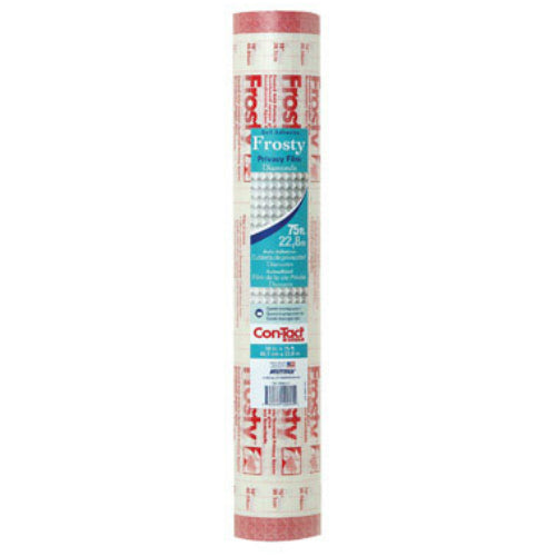 "Con-Tact Brand 75F-C9905-01 Self Adhesive Clear Covering, Frosty Diamond, 18"" x 75'"