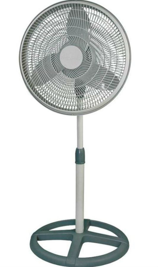 Aerospeed  PF160 3 Speed Oscillating Pedestal Fan, 16""