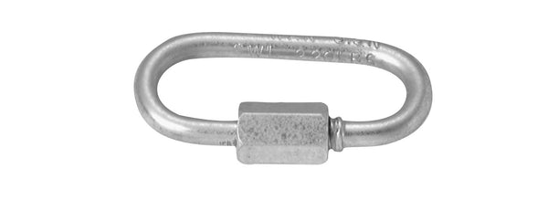 "Campbell Chain T7645146V Steel Quick Link, 3/8"", Zinc Plated"