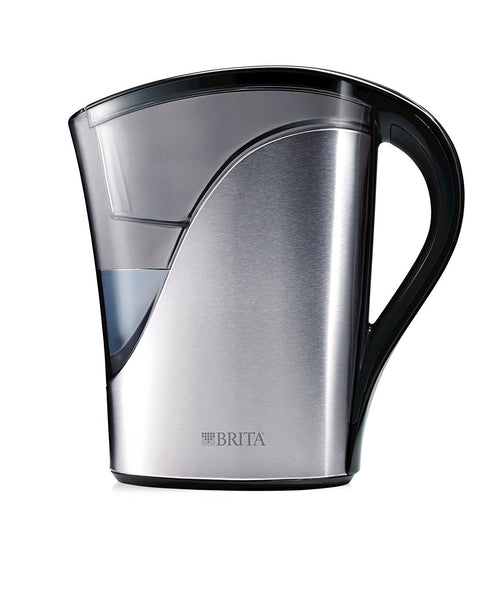 Brita 35792 Water Filtration Pitchers, Stainless Steel