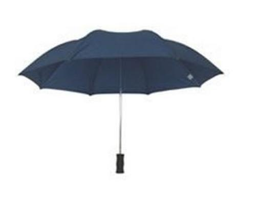 "Homebasix TF-02 Compact Rain Umbrella, 21"", Navy"
