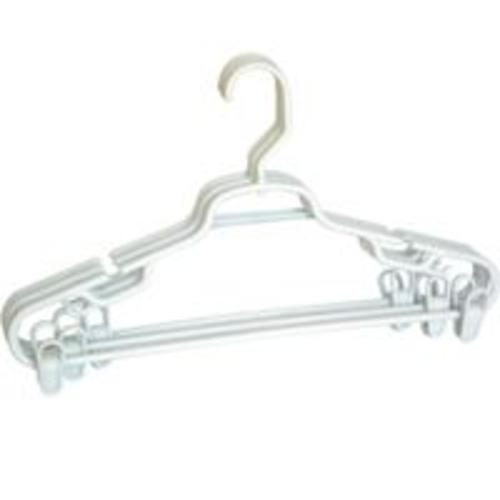Merrick Engineering C8932A-SC12 Swivel Suit Hanger With Clips, Assorted