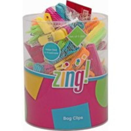 Zing 93062 Bag Clip Display, 5 Piece, 3""