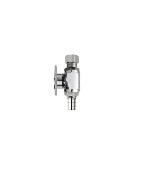 Plumb Pak PPC2883PCLF Quarter Turn Straight Ball Valve, Brass