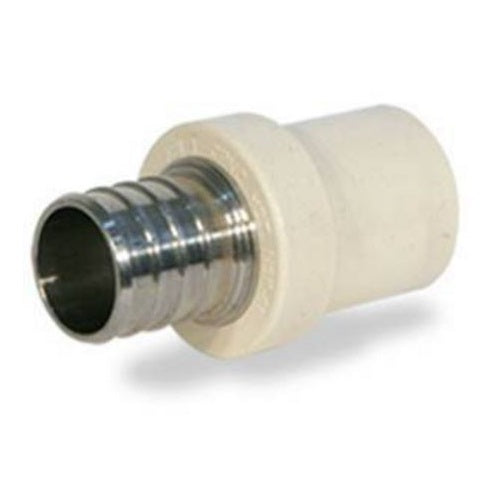 "Apollo APXCPV12/TPC0500 PEX Pipe To Tube Adapter, 1/2"", 100 PSI"