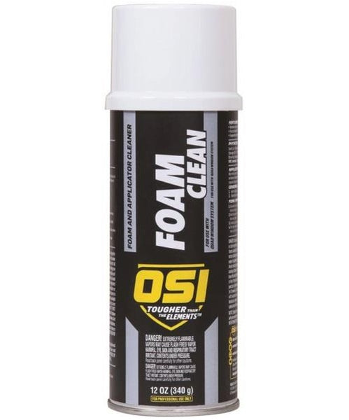 OSI 2049536 TeQ Clean Foam & Applicator Cleaner, 12 Oz, White