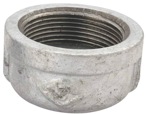 Worldwide Sourcing 18-2G Galvanized Malleable Cap, 2""