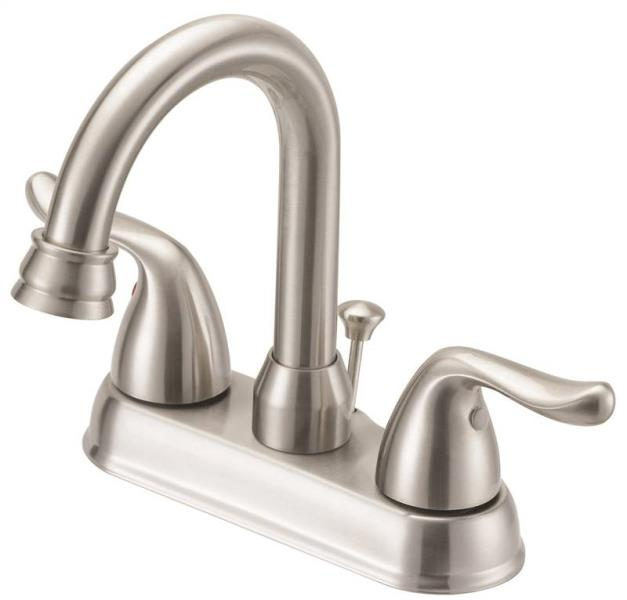 Boston Harbor TQ-5111080NP Two Handle Lavatory Faucet, Brushed Nickel