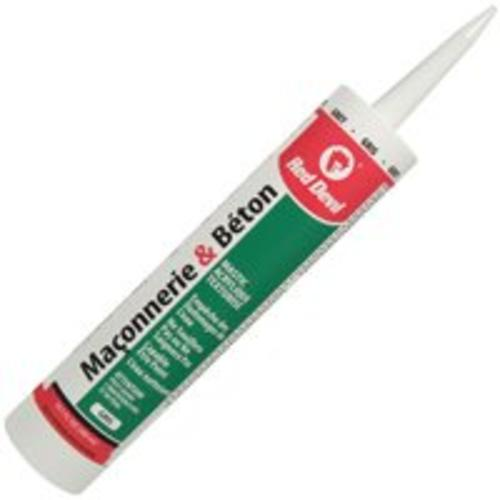 Red Devil 0120CA Concrete And Masonry Sealant Repair, Grey, 10.1 Oz