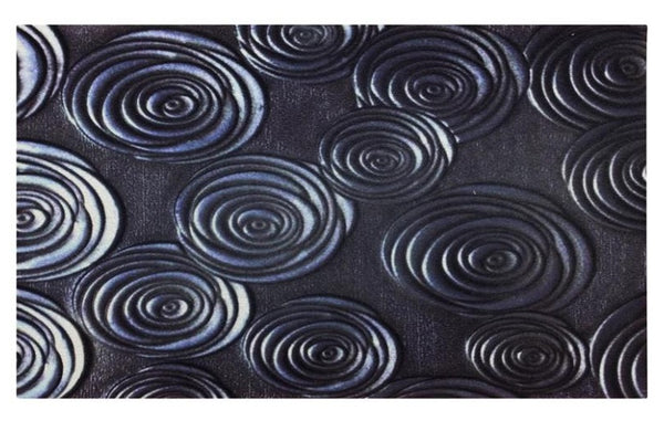 "WJ Dennis FUSS2436 Door Mat, Recycled Rubber Backing, 36"" L x 24"" W"