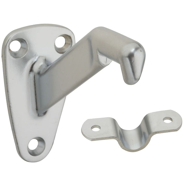 National Hardware N274-274 MPB112 Handrail Brackets, Satin Chrome